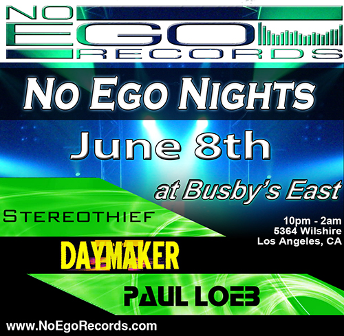 No Ego Nights at Busby's East - Saturday June 8th
